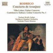 Norbert Kraft: Rodrigo / Villa-Lobos / Castelnuovo-Tedesco: Guitar Concertos - CD