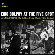 Eric Dolphy, Booker Little: At The Five Spot Vol. 1 - Plak