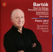 Paavo Järvi, NHK Symphony Orchestra: Bartok: Music For Strings Percussion & Celesta / Divertimento - CD
