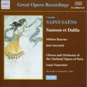 Saint-Saens: Samson Et Dalila (Paris Opera) (1946) - CD