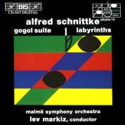 Lev Markiz, Malmö SymfoniOrkester: Schnittke - Gogol Suite; Labyrinths - CD