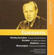 Philharmonia Orchestra, Royal Philharmonic Orchestra, Eugene Goossens: Goossens (Balakirev, Mussorgsky, Rimsky-Korsakov, Scriabin) - CD