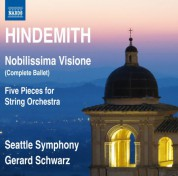 Gerard Schwarz, Seattle Symphony Orchestra: Hindemith: Nobilissima visione - CD