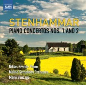 Niklas Sivelov: Stenhammar: Piano Concertos Nos. 1 & 2 - CD