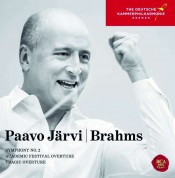Paavo Järvi, Deutsche Kammerphilharmonie Bremen: Brahms: Symphony No. 2, Tragic Overture & Academic Festival Overture - CD