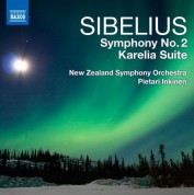 Pietari Inkinen: Sibelius: Symphony No. 2 - Karelia Suite - CD