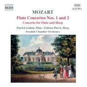 Patrick Gallois: Mozart: Flute Concertos Nos. 1 and 2 / Concerto for Flute and Harp - CD