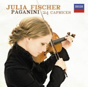 Julia Fischer: Paganini: 24 Capricci - CD