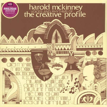 Harold McKinney: Voices And Rhythms Of The Creative - Plak