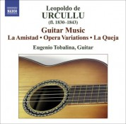 Eugenio Tobalina: Urcullu: Guitar Works - CD