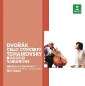 Mstislav Rostropovich, Boston Symphony Orchestra, Seiji Ozawa: Dvorak/ Tchaikovsky: Cello Concerto/ Rococo Variations - CD