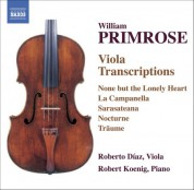 Primrose: Viola Transcriptions - CD