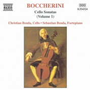 Boccherini: Cello Sonatas - CD
