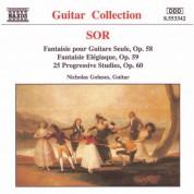Nicholas Goluses: Sor: 25 Progressive Studies, Op. 60 / Fantaisie Elegiaque - CD