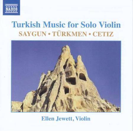 Ellen Jewett: Turkish Music for Solo Violin - CD