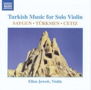 Ellen Jewett: Turkish Music for Solo Violin - CD
