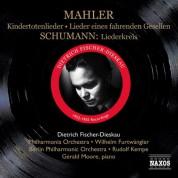 Dietrich Fischer-Dieskau: Mahler, G.: Lieder Eines Fahrenden Gesellen / Kindertotenlieder / Schumann, R.: Liederkreis (Fischer-Dieskau) (1952-1955) - CD