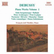 Francois-Joel Thiollier: Debussy: Piano Works, Vol. 1 - CD