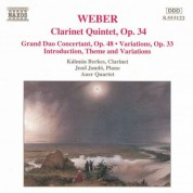 Weber: Clarinet Quintet, Op. 34 / Grand Duo Concertant - CD