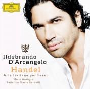 Federico Maria Sardelli, Ildebrando D'Arcangelo, Modo Antiquo: Handel: Arie Italiane - CD