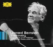 Israel Philharmonic Orchestra, Leonard Bernstein, New York Philharmonic Orchestra: Tchaikovsky: Symphonies Nos. 4 - 6 - CD