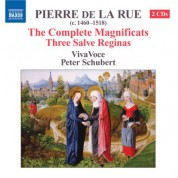 VivaVoce: La Rue: Magnificats (Complete) / 3 Salve Reginas - CD