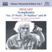 Symphony Nova Scotia: Mozart: Symphonies Nos. 31, 35 and 40 - CD
