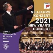 Wiener Philharmoniker, Riccardo Muti: New Year's Concert 2021 - Plak
