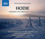 Hilary Davan Wetton: Vaughan Williams: Fantasia On Christmas Carols / Hodie - CD