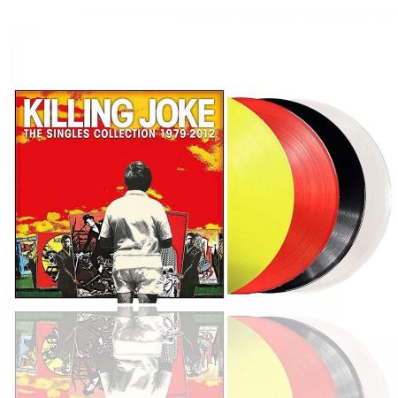 Killing Joke: Singles Collection 1979 - 2012 (Transparent Yellow/Red & Black/Clear Vinyl) - Plak