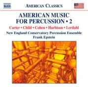 Frank Epstein: American Music for Percussion, Vol. 2 - CD