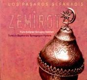 Los Pasharos Sefaradis: Zemirot - CD
