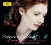 Patricia Petibon, Concerto Köln, Daniel Harding: Patricia Petibon - Amoureuses Gluck Haydn Mozart - CD