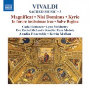 Aradia Ensemble: Vivaldi, A.: Sacred Music, Vol. 3 - CD