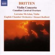 Britten: Violin Concerto / Canadian Carnival / Mont Juic - CD