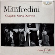 Quartetto Delfico: Manfredini: Complete String Quartets - CD