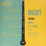 Wiener Konzerthaus Quartett, Leopold Wlach: Mozart Clarinet Quintet In A Major - Plak