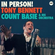 Tony Bennett, Count Basie Orchestra, Count Basie: In Person! - Plak