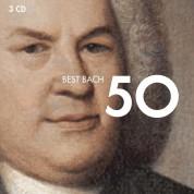 Çeşitli Sanatçılar: 50 Best Bach - CD