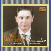 Mccormack, John: Remember (1911-1928) - CD