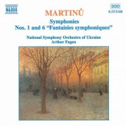 Arthur Fagen: Martinu, B.: Symphonies Nos. 1 and 6 - CD