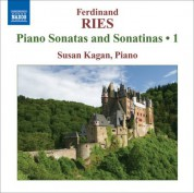 Susan Kagan: Ries: Complete Piano Sonatas and Sonatinas, Vol. 1 - CD