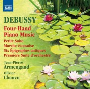 Jean-Pierre Armengaud, Olivier Chauzu: Debussy: Four-Hand Piano Music - CD