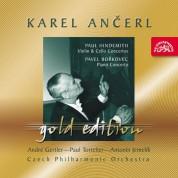 Andre Gertler, Antonin Jemelik, Czech Philharmonic Orchestra, Karel Ancerl, Paul Tortelier: Hindemith / Borkovec - CD