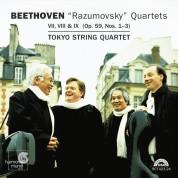 Tokyo String Quartet: Beethoven: Razoumovsky Quartets - CD