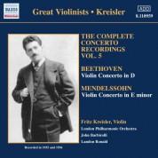Fritz Kreisler: Beethoven / Mendelssohn: Violin Concertos (Kreisler) (1935-1936) - CD
