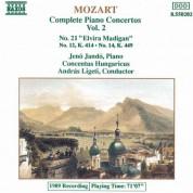 Jeno Jando: Mozart: Piano Concertos Nos. 12, 14 and 21 - CD