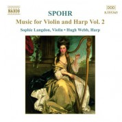 Spohr: Music for Violin and Harp, Vol.  2 - CD