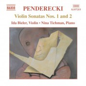 Penderecki: Violin Sonatas Nos. 1 and 2 - CD