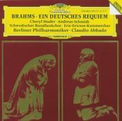 Andreas Schmidt, Berliner Philharmoniker, Cheryl Studer, Claudio Abbado, Eric Ericson Kammerchor, Schwedischer Rundfunkchor: Brahms: Ein Deutsches Requiem - CD